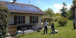 Nettoyage panneaux photovoltaïque